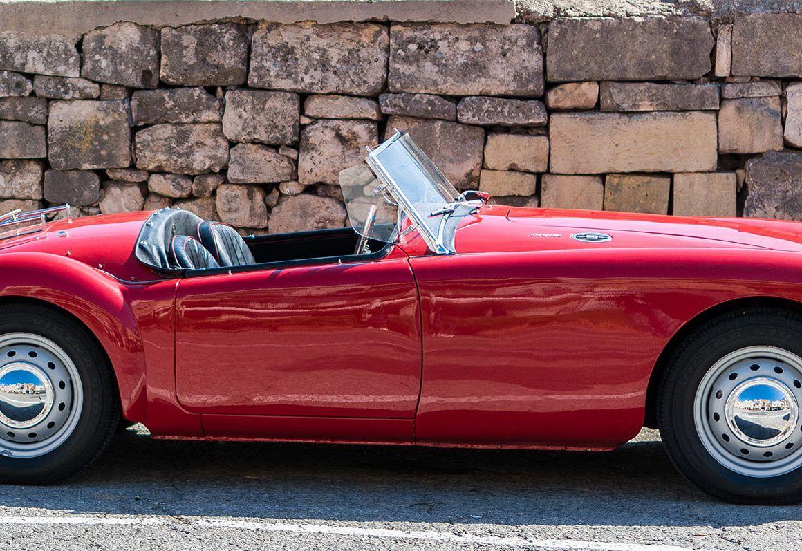 Classic Car Restoration Derbyshire